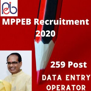MPPEB Group 2 Sub Group 4 Online Form 2020
